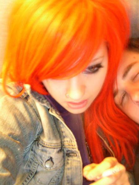 Orange Hair – Dye / Color, Wigs & Extensions