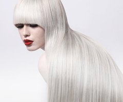 Girls With SuperLong White Hair Amp Bangs  Cherry Ambition