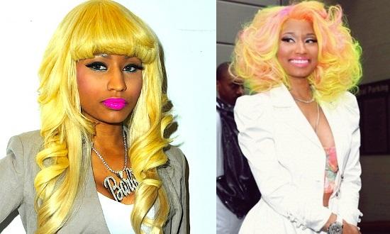 Nicki Minaj With Yellow Hair Double Feature Cherry