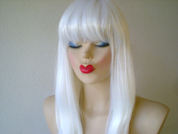 White Wig Extensions 32