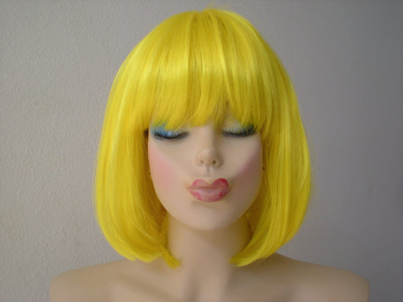 Yellow Hair Extensions 60