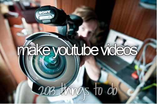Make YouTube Videos - 2013